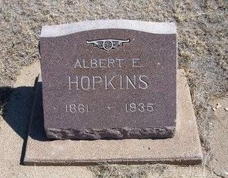 HOPKINS, ALBERT E - Baca County, Colorado | ALBERT E HOPKINS - Colorado Gravestone Photos
