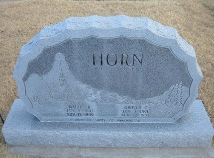 HORN, GROVER C - Baca County, Colorado | GROVER C HORN - Colorado Gravestone Photos