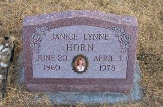 HORN, JANICE LYNNE - Baca County, Colorado | JANICE LYNNE HORN - Colorado Gravestone Photos