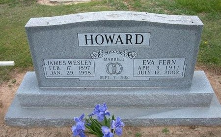 HOWARD, JAMES WESLEY - Baca County, Colorado | JAMES WESLEY HOWARD - Colorado Gravestone Photos