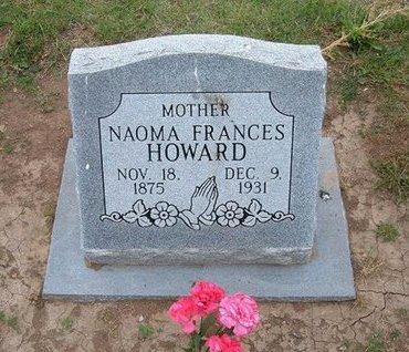 CARTER HOWARD, NAOMA FRANCES - Baca County, Colorado | NAOMA FRANCES CARTER HOWARD - Colorado Gravestone Photos