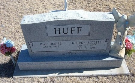 HUFF, GEORGE RUSSELL - Baca County, Colorado | GEORGE RUSSELL HUFF - Colorado Gravestone Photos