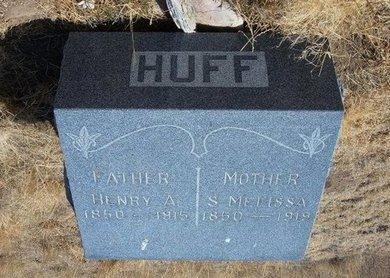 WEBB HUFF, SARAH MELISSA - Baca County, Colorado | SARAH MELISSA WEBB HUFF - Colorado Gravestone Photos