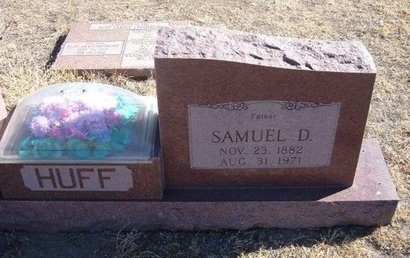 HUFF, SAMUEL D - Baca County, Colorado | SAMUEL D HUFF - Colorado Gravestone Photos