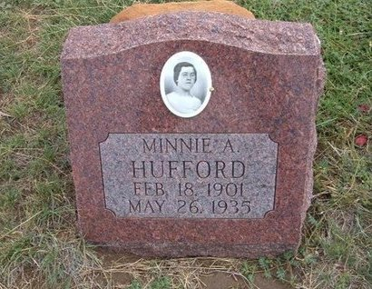 PRIDEMORE HUFFORD, MINNIE A - Baca County, Colorado | MINNIE A PRIDEMORE HUFFORD - Colorado Gravestone Photos