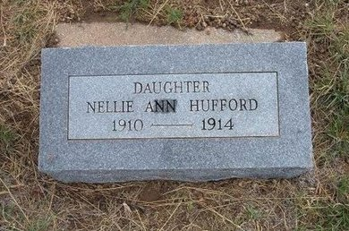 HUFFORD, NELLIE ANN - Baca County, Colorado   NELLIE ANN HUFFORD - Colorado Gravestone Photos