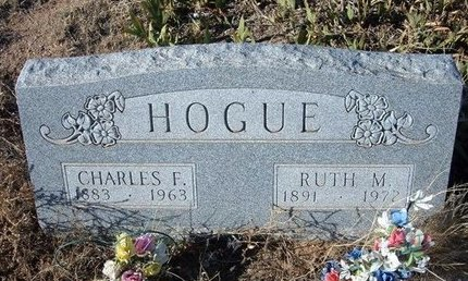 HOGUE, CHARLES F - Baca County, Colorado | CHARLES F HOGUE - Colorado Gravestone Photos
