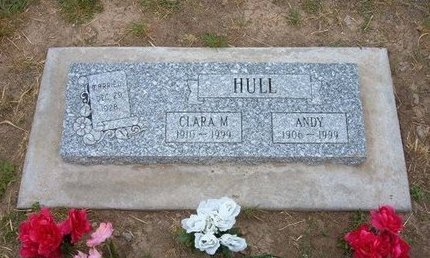HULL, ANDY - Baca County, Colorado   ANDY HULL - Colorado Gravestone Photos