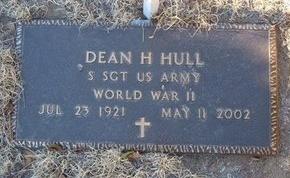 HULL (VETERAN WWII), DEAN H - Baca County, Colorado | DEAN H HULL (VETERAN WWII) - Colorado Gravestone Photos