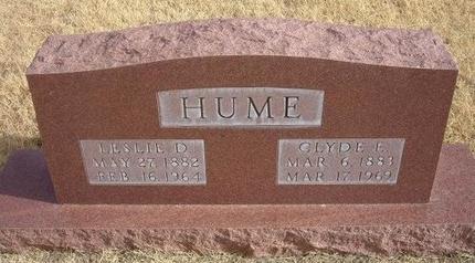 HUME, CLYDE EFFIE BURNETTE - Baca County, Colorado | CLYDE EFFIE BURNETTE HUME - Colorado Gravestone Photos