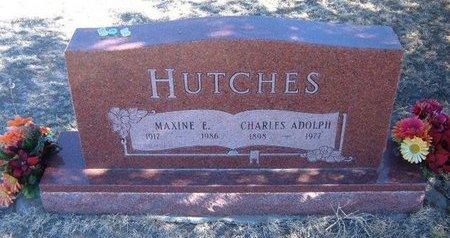 HUTCHES, CHARLES ADOLPH - Baca County, Colorado | CHARLES ADOLPH HUTCHES - Colorado Gravestone Photos