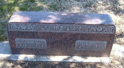 HUTCHES, JOHN M - Baca County, Colorado | JOHN M HUTCHES - Colorado Gravestone Photos