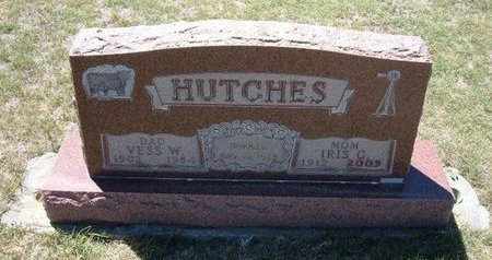 HUTCHES (VETERAN WWII), VESS WOOD - Baca County, Colorado | VESS WOOD HUTCHES (VETERAN WWII) - Colorado Gravestone Photos