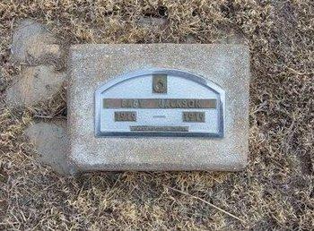 JACKSON, BABY - Baca County, Colorado   BABY JACKSON - Colorado Gravestone Photos