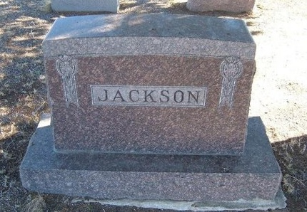 JACKSON FAMILY GRAVESTONE,  - Baca County, Colorado |  JACKSON FAMILY GRAVESTONE - Colorado Gravestone Photos