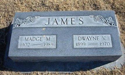 JAMES, MADGE M - Baca County, Colorado | MADGE M JAMES - Colorado Gravestone Photos