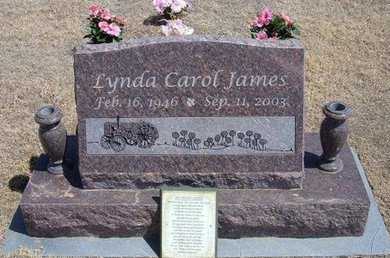 JAMES, LYNDA CAROL - Baca County, Colorado | LYNDA CAROL JAMES - Colorado Gravestone Photos