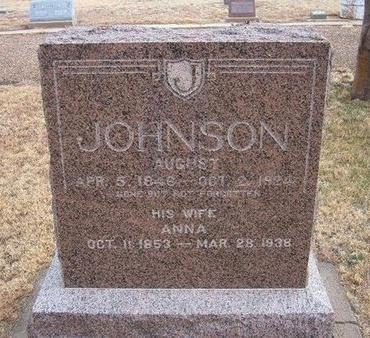 JOHNSON, AUGUST - Baca County, Colorado | AUGUST JOHNSON - Colorado Gravestone Photos