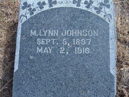JOHNSON, MARION LYNN - Baca County, Colorado   MARION LYNN JOHNSON - Colorado Gravestone Photos