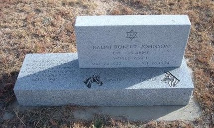 JOHNSON (VETERAN WWII), RALPH ROBERT - Baca County, Colorado | RALPH ROBERT JOHNSON (VETERAN WWII) - Colorado Gravestone Photos