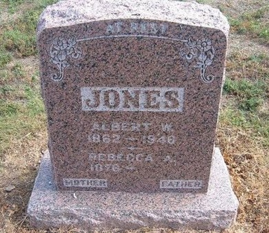JONES, ALBERT WILLOCK - Baca County, Colorado   ALBERT WILLOCK JONES - Colorado Gravestone Photos