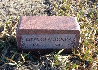 JONES, EDWARD W - Baca County, Colorado | EDWARD W JONES - Colorado Gravestone Photos