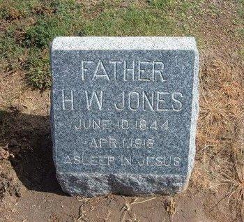 JONES, HENRY WOOD - Baca County, Colorado   HENRY WOOD JONES - Colorado Gravestone Photos