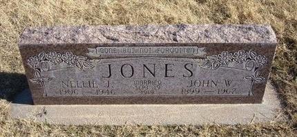 JONES, NELLIE J - Baca County, Colorado | NELLIE J JONES - Colorado Gravestone Photos