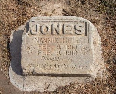 JONES, NANNIE BELL - Baca County, Colorado | NANNIE BELL JONES - Colorado Gravestone Photos