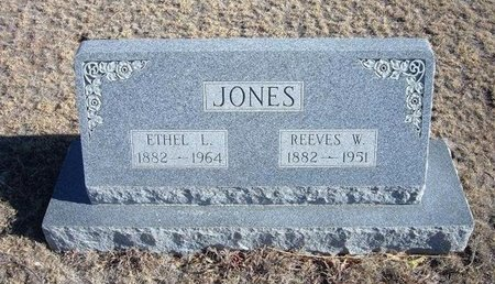 JONES, ETHEL L - Baca County, Colorado | ETHEL L JONES - Colorado Gravestone Photos