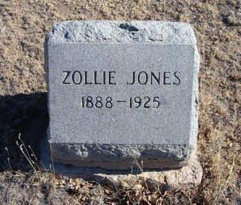 JONES, ZOLLIE B - Baca County, Colorado | ZOLLIE B JONES - Colorado Gravestone Photos