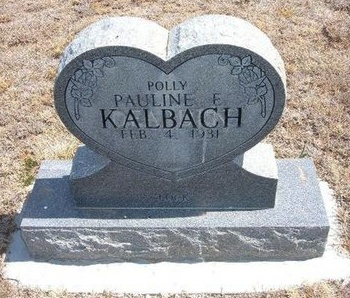 "KALBACH, PAULINE ELSIE ""POLLY"" - Baca County, Colorado 
