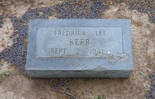 KERR, FREDRICK LEE - Baca County, Colorado | FREDRICK LEE KERR - Colorado Gravestone Photos