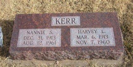 KERR, HARVEY L - Baca County, Colorado | HARVEY L KERR - Colorado Gravestone Photos