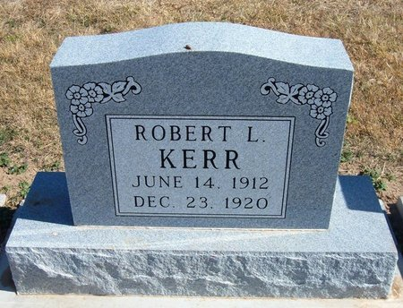 KERR, ROBERT L - Baca County, Colorado | ROBERT L KERR - Colorado Gravestone Photos