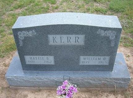 KERR, WILLIAM OTHANIEL - Baca County, Colorado | WILLIAM OTHANIEL KERR - Colorado Gravestone Photos
