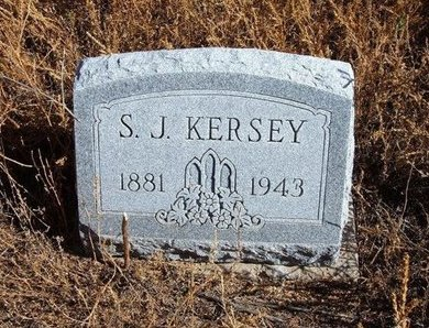 KERSEY, S J - Baca County, Colorado | S J KERSEY - Colorado Gravestone Photos