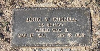 KIMBELL (VETERAN WWII), JOHN WILLIAM - Baca County, Colorado | JOHN WILLIAM KIMBELL (VETERAN WWII) - Colorado Gravestone Photos