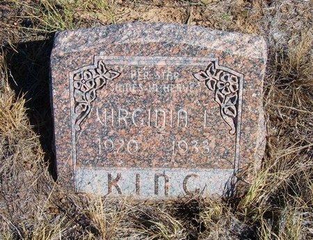KING, VIRGINIA L - Baca County, Colorado   VIRGINIA L KING - Colorado Gravestone Photos