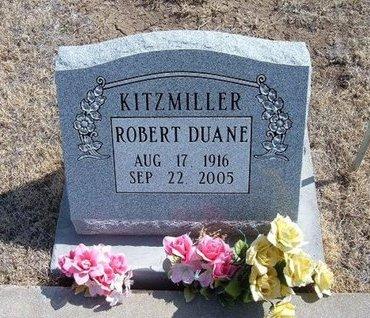 KITZMILLER, ROBERT DUANE - Baca County, Colorado | ROBERT DUANE KITZMILLER - Colorado Gravestone Photos
