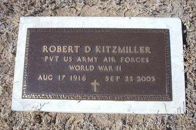 KITZMILLER (VETERAN WWII), ROBERT DUANE - Baca County, Colorado | ROBERT DUANE KITZMILLER (VETERAN WWII) - Colorado Gravestone Photos