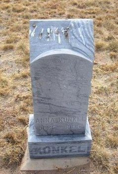 KONKEL, ANNA - Baca County, Colorado   ANNA KONKEL - Colorado Gravestone Photos