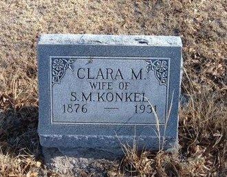 KONKEL, CLARA M - Baca County, Colorado | CLARA M KONKEL - Colorado Gravestone Photos