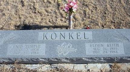 KONKEL, ELDEN KEITH - Baca County, Colorado   ELDEN KEITH KONKEL - Colorado Gravestone Photos