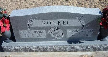 KONKEL, N FAY - Baca County, Colorado | N FAY KONKEL - Colorado Gravestone Photos