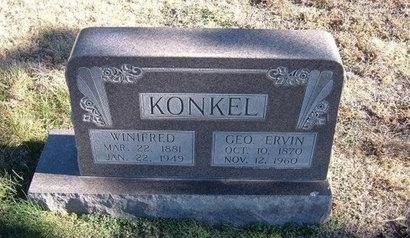 KONKEL, GEORGE ERWIN - Baca County, Colorado | GEORGE ERWIN KONKEL - Colorado Gravestone Photos