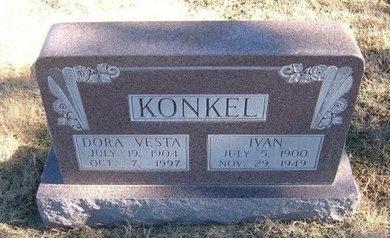 KONKEL, IVAN - Baca County, Colorado | IVAN KONKEL - Colorado Gravestone Photos