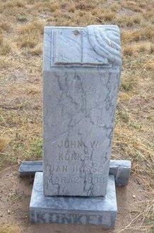 KONKEL, JOHN WILLIAM - Baca County, Colorado | JOHN WILLIAM KONKEL - Colorado Gravestone Photos