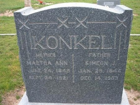 KONKEL, MARTHA ANN - Baca County, Colorado | MARTHA ANN KONKEL - Colorado Gravestone Photos