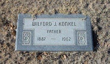 KONKEL, WILFORD J - Baca County, Colorado | WILFORD J KONKEL - Colorado Gravestone Photos